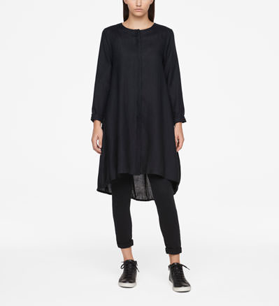 Sarah Pacini LINEN DRESS - KNEE-LENGTH Front