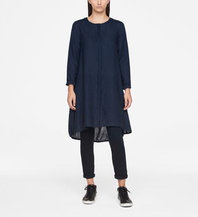 Sarah Pacini LINEN DRESS - KNEE-LENGTH Front