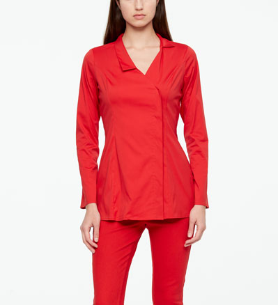 Sarah Pacini SHIRT - STRETCH COTTON Vorne
