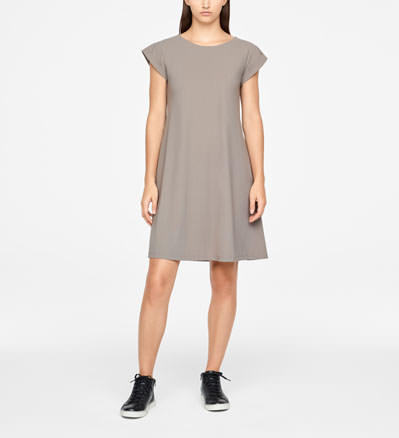 Sarah Pacini SUMMER DRESS - CAPPED SLEEVES Front
