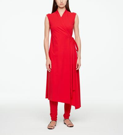 Sarah Pacini URBAN DRESS - WRAP Front
