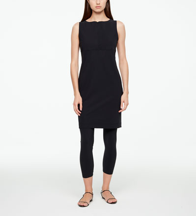 Sarah Pacini STRAIGHT DRESS - TECHNO FABRIC Front
