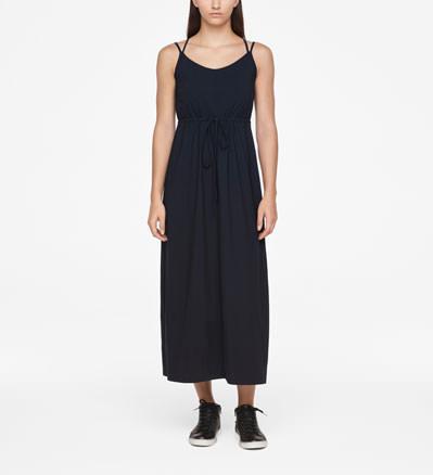 Sarah Pacini MAXI DRESS - DRAWSTRING Front