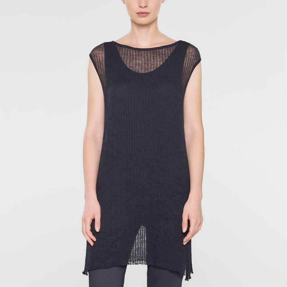 Sarah Pacini Long cap sleeve sweater Front