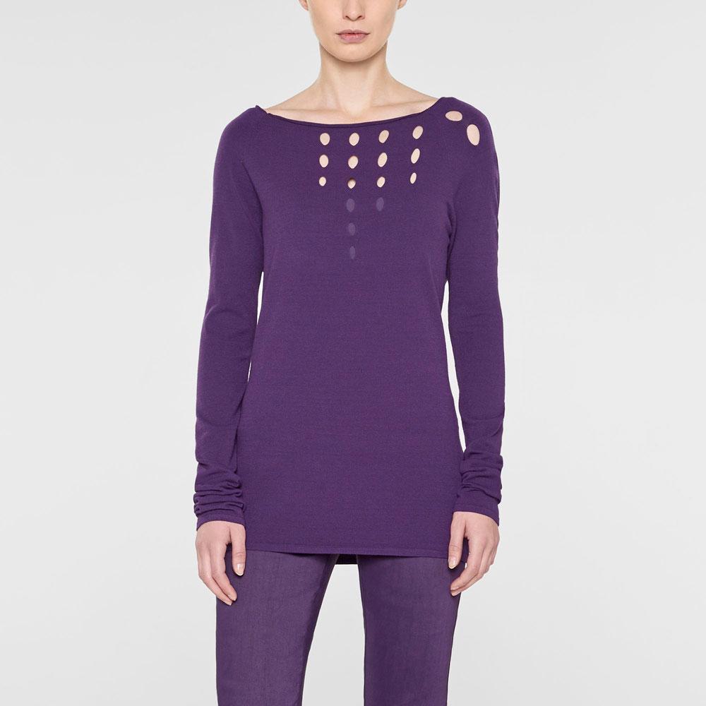 Sarah Pacini Langer taillierter sweater Vorne