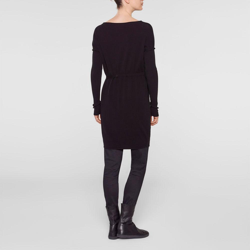 Sarah Pacini Lange trui met zachte riem Achterzijde