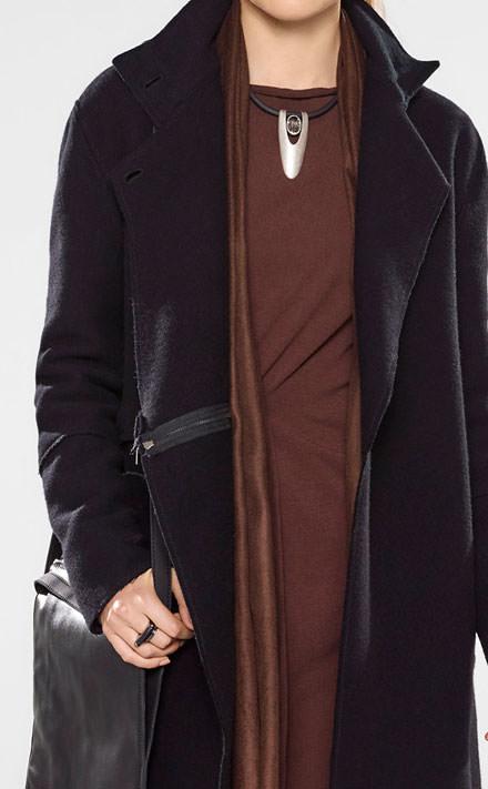 Sarah Pacini Pull long avec ceinture souple Look