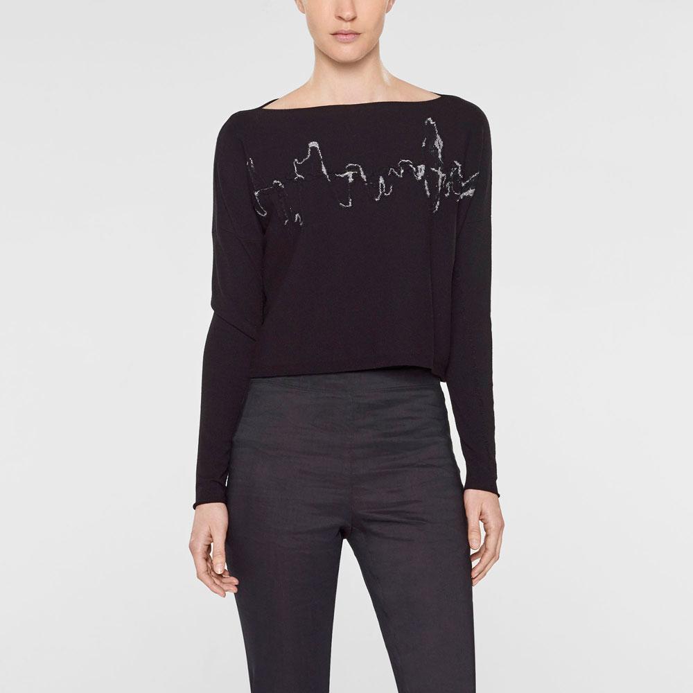 Sarah Pacini Short sweater Front