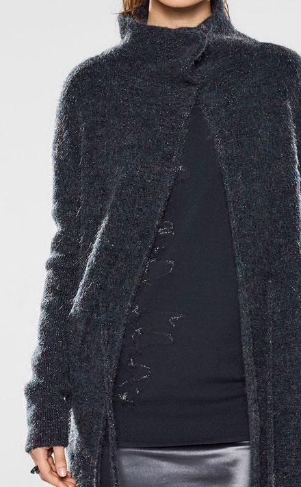 Sarah Pacini Robe courte à fines bretelles Look
