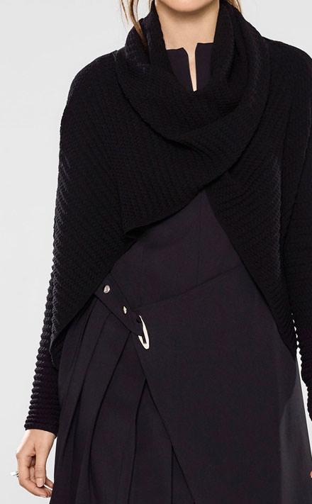 Sarah Pacini Mouwloze korte jurk Look
