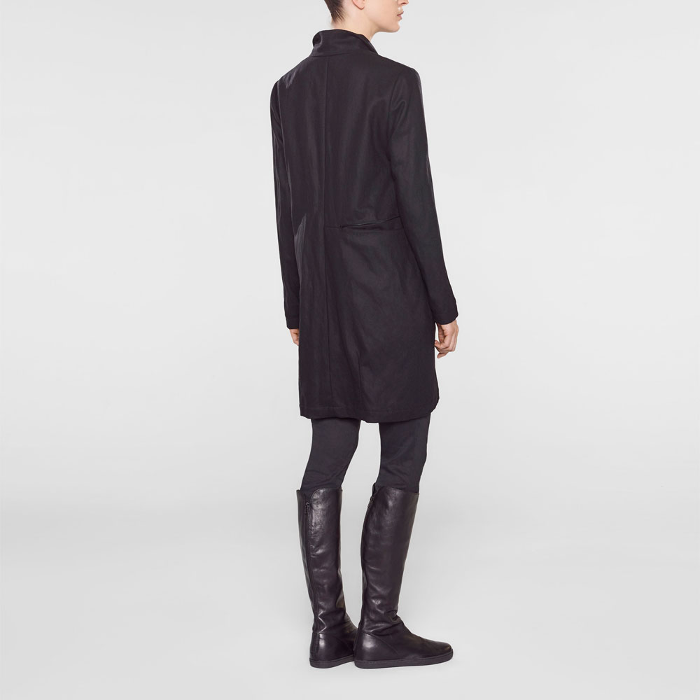 Sarah Pacini Long jacket,straight fit Back view