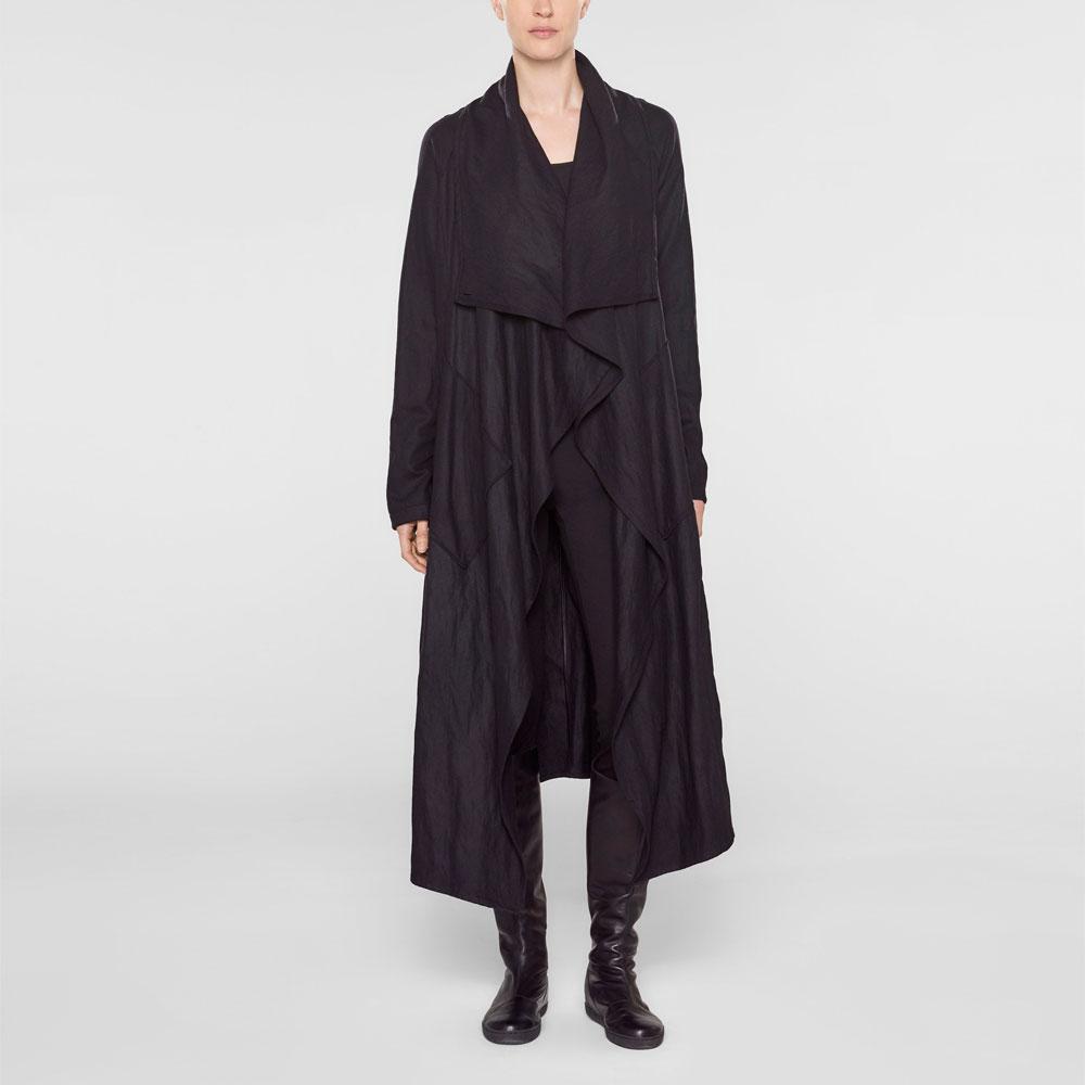 Langer mit Langer mantel mit mantel trichterkragen 2eWDYEI9H