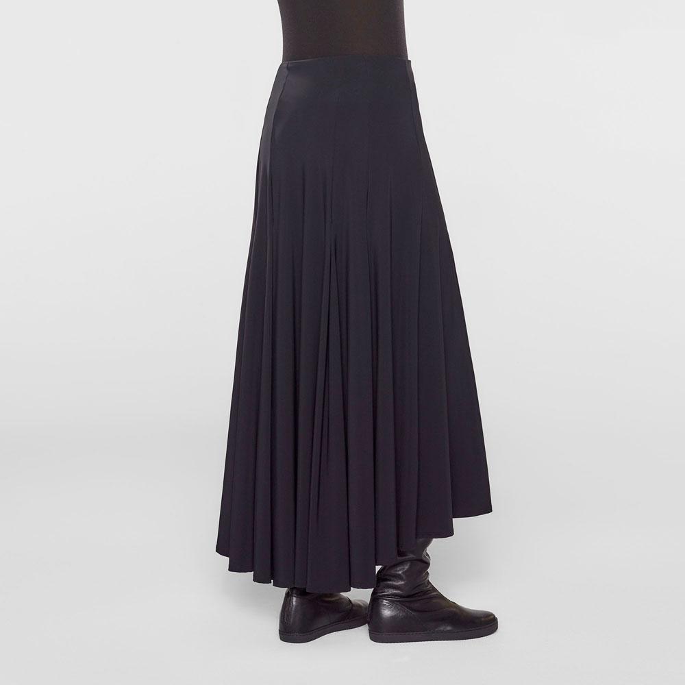 Voorkeur Zwarte lange rok met hoge taille - Sarah Pacini @BW28