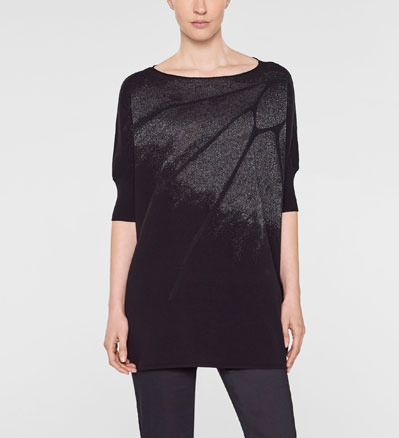 Sarah Pacini 3/4 sleeve long sweater Front