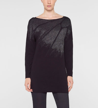 Sarah Pacini Long sweater Front