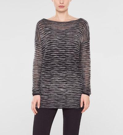 Sarah Pacini Lange losse trui Voorzijde