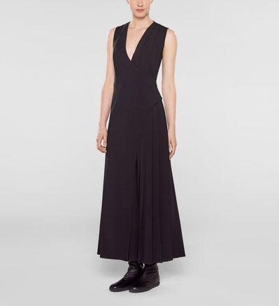 Sarah Pacini Lange jurk Voorzijde