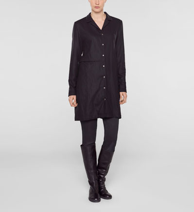 Sarah Pacini Long jacket,straight fit Front