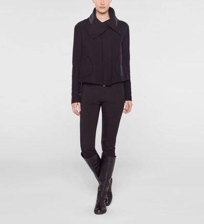 Sarah Pacini Short flare coat Front