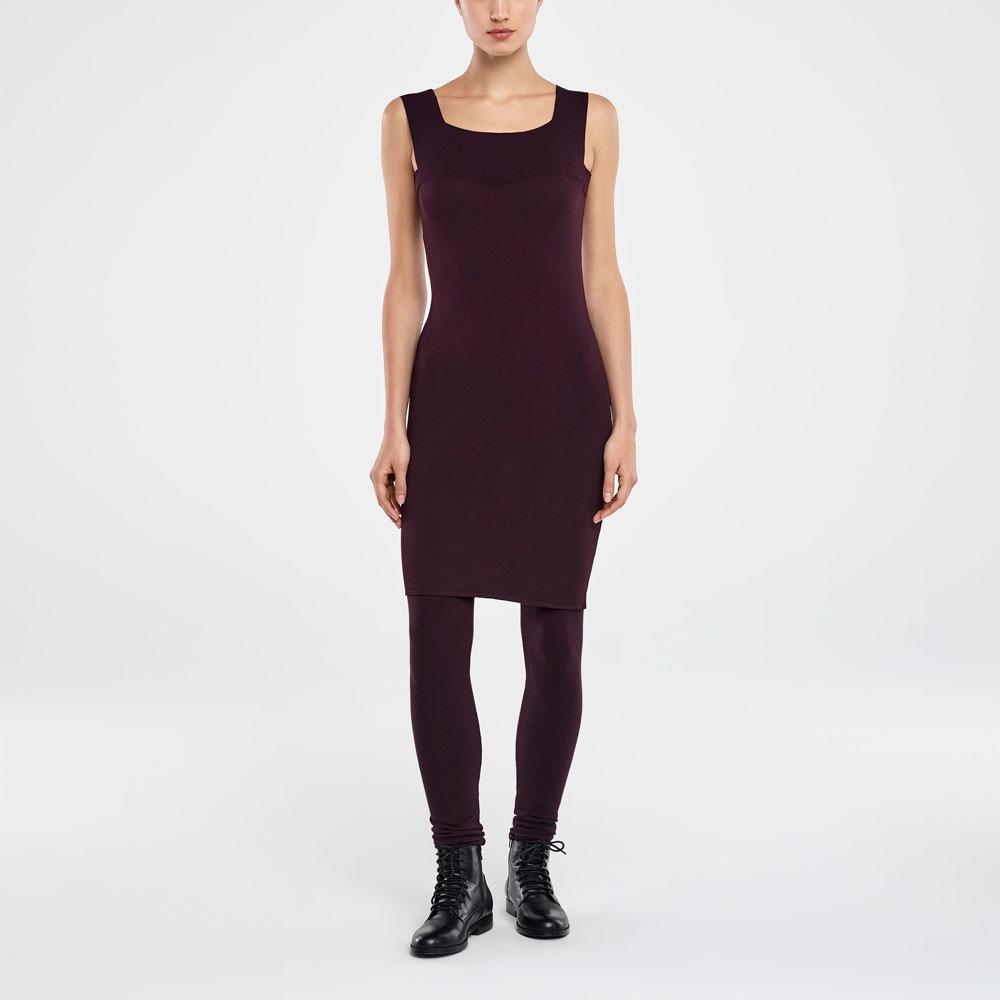 Sarah Pacini KNEE-LENGTH DRESS - SQUARE NECKLINE Front