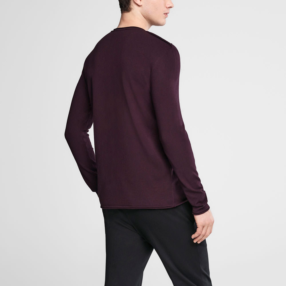 Sarah Pacini Crewneck sweater Back view