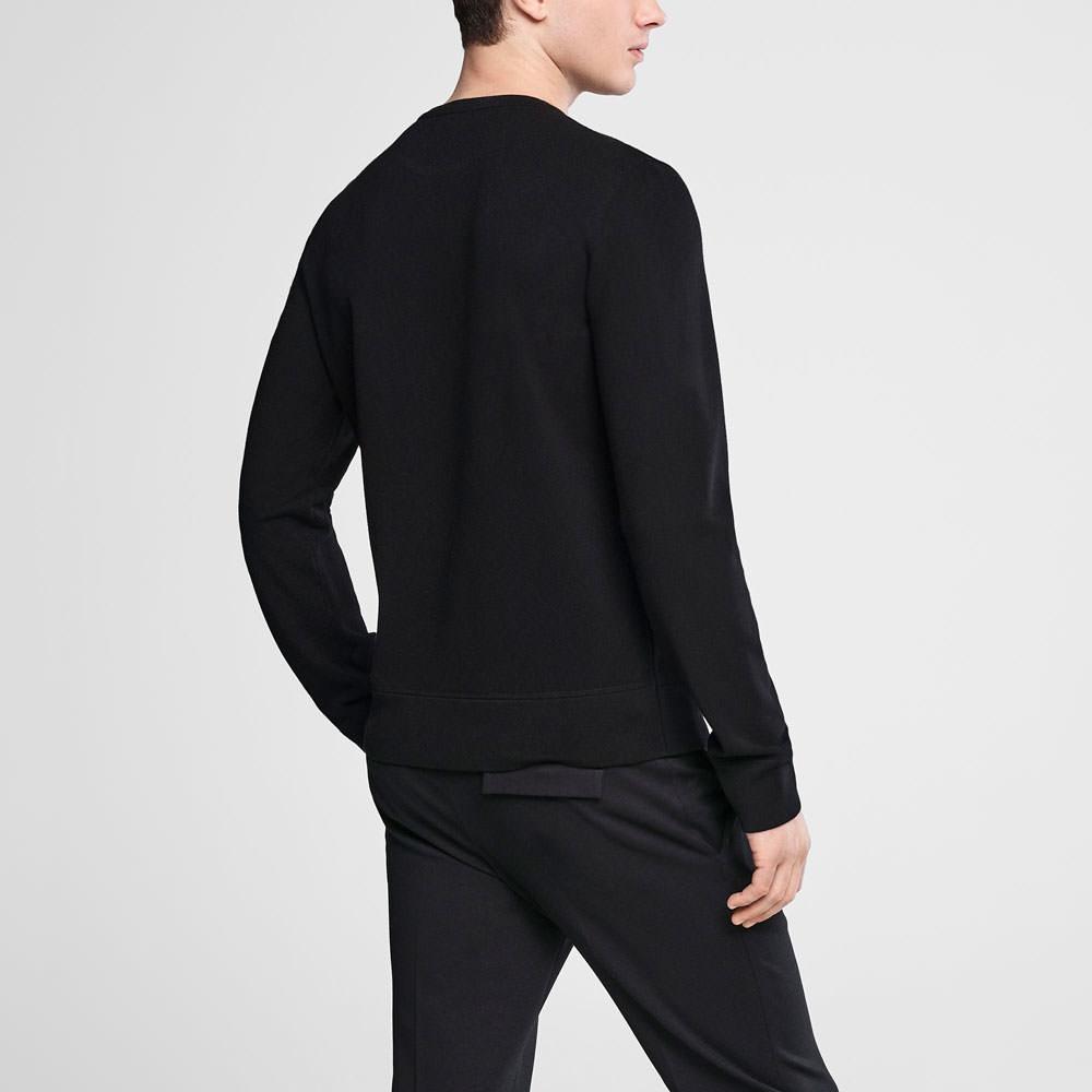Sarah Pacini Crewneck sweater - double knit Back view