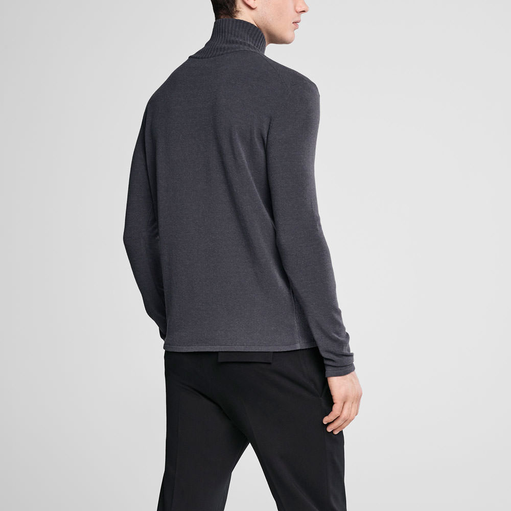 Sarah Pacini Cowl neck sweater Back view