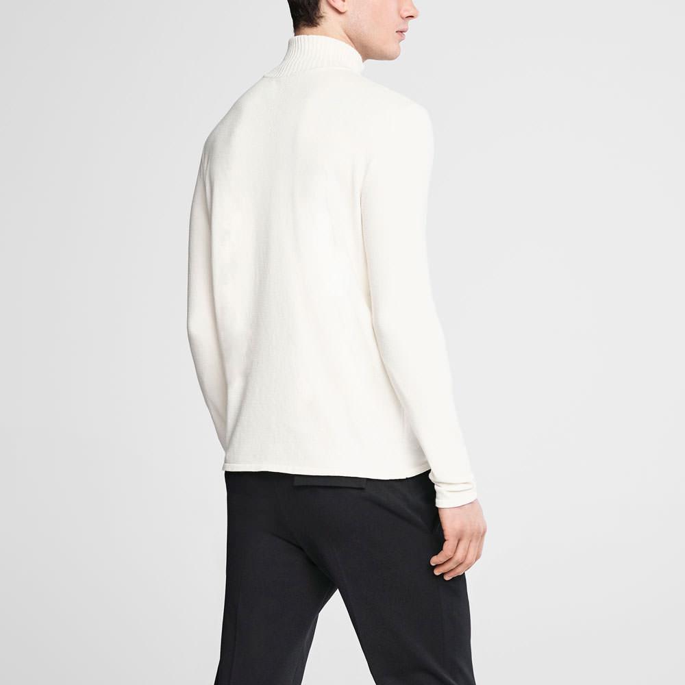 Sarah Pacini Zipped mock neck sweater Back view