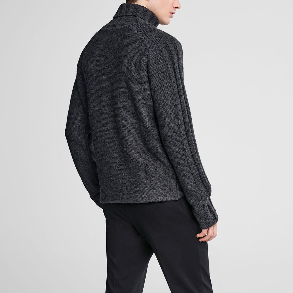Sarah Pacini Turtleneck sweater Back view