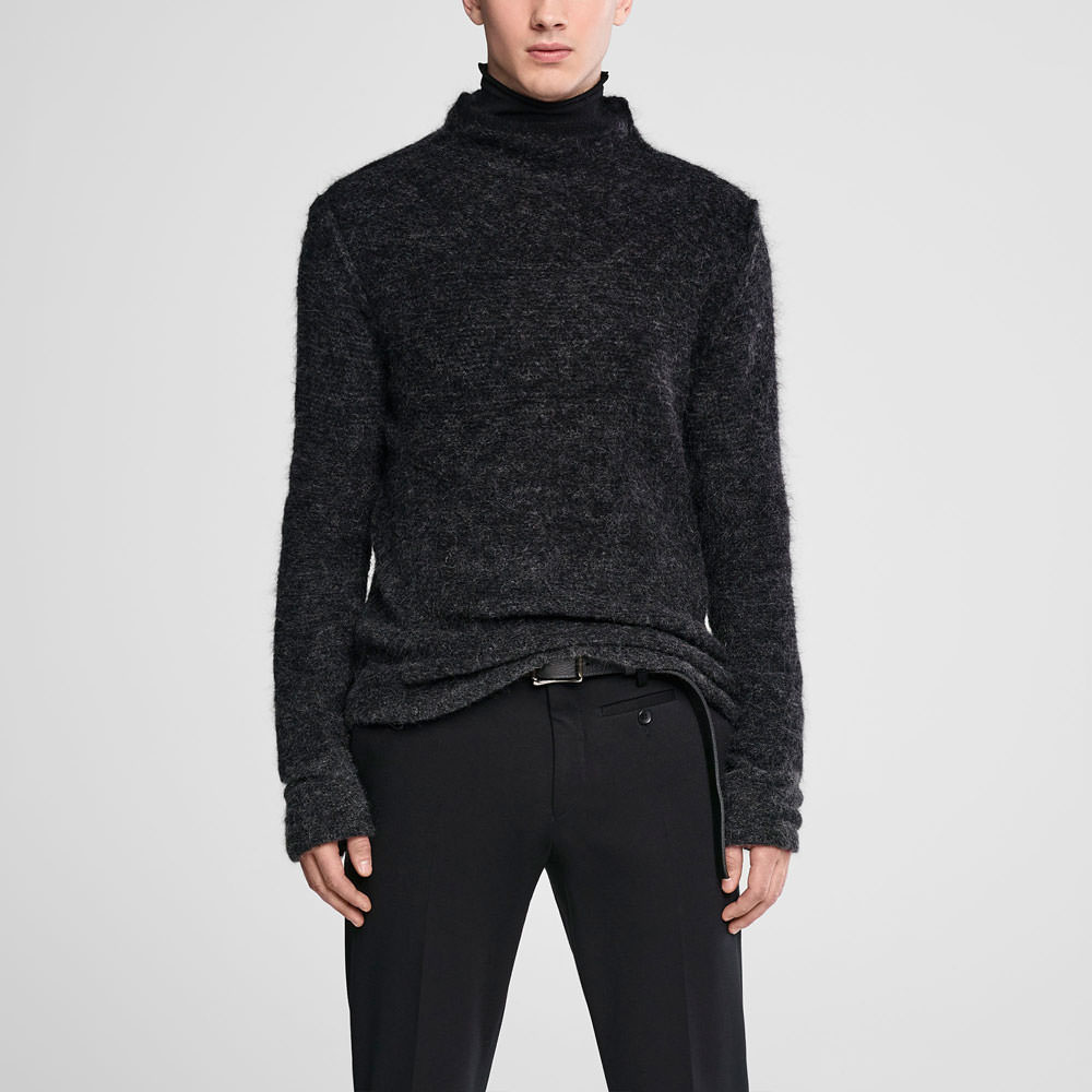 Sarah Pacini Ombré mohair sweater - funnel neck Front