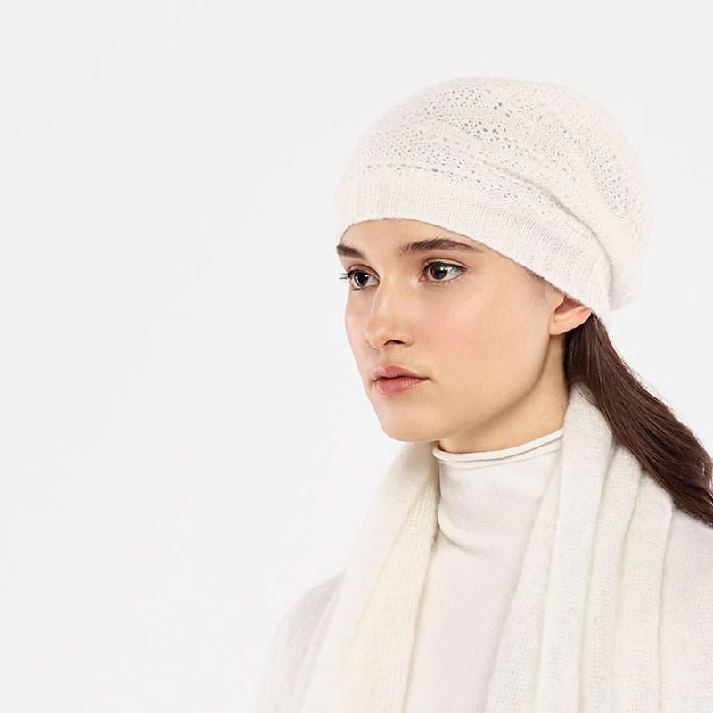 Sarah Pacini GEBREIDE KAP Voorzijde