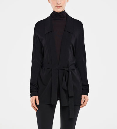 Sarah Pacini CARDIGAN LONG De face