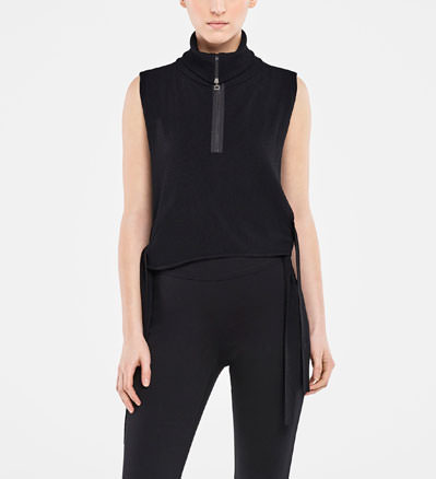 Sarah Pacini OPEN-SIDE SWEATER Front