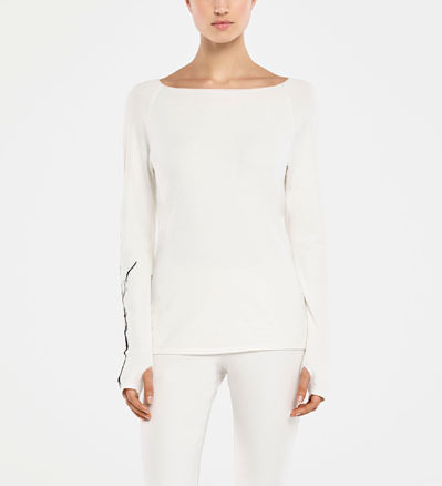 Sarah Pacini SWEATER - TREE OF LIFE Front