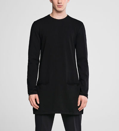 Sarah Pacini Tunic sweater - double knit Front