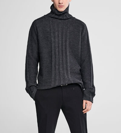 Sarah Pacini Turtleneck sweater Front