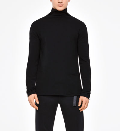 Sarah Pacini URBAN SWEATER - MOCK NECK Front