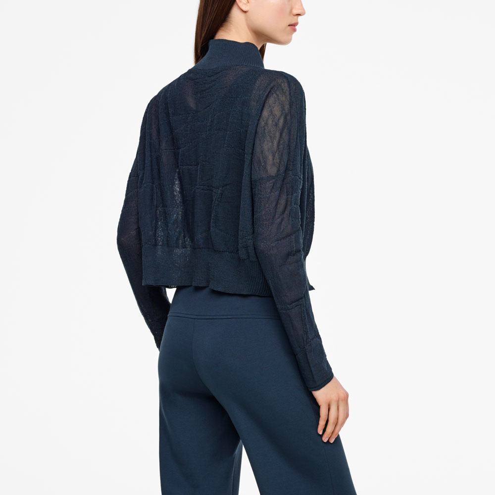 Sarah Pacini SHORT CARDIGAN Back view