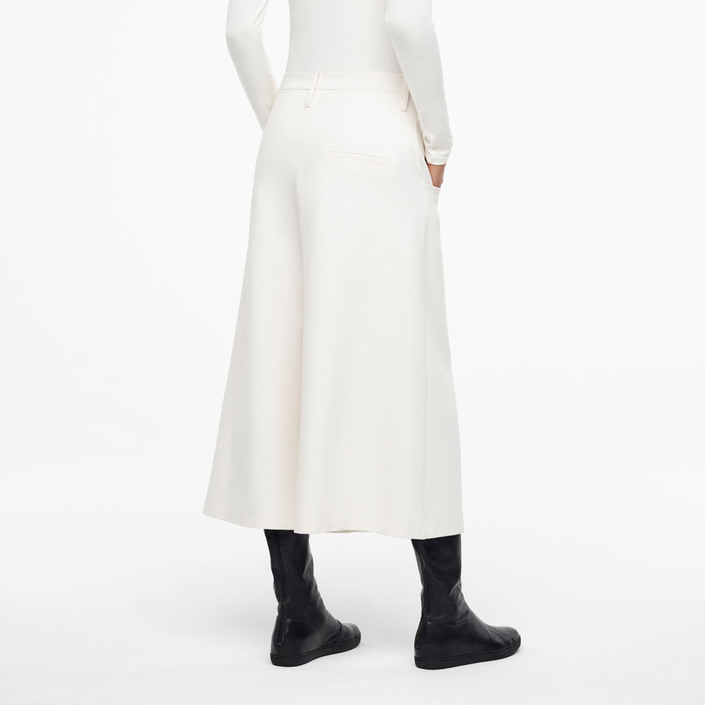 Sarah Pacini JERSEY PANTS -CROPPED STYLE Back view