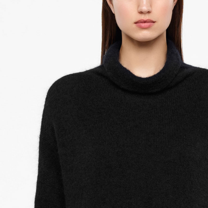 Sarah Pacini MOHAIR MERINO SWEATER - FULL SLEEVES Front
