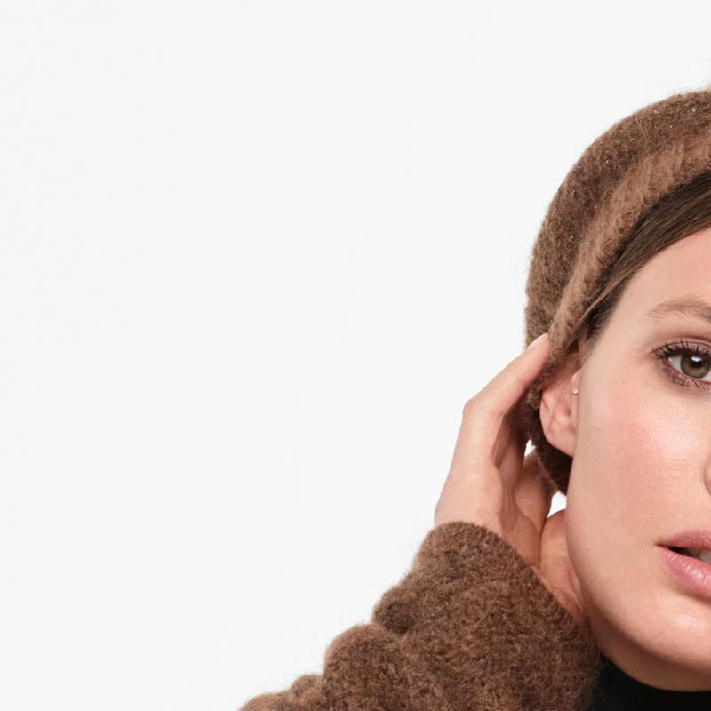 Sarah Pacini BONNET - FIL BRILLANT De face