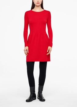 Sarah Pacini KNEE-LENGTH DRESS Front