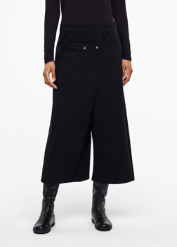 Sarah Pacini JERSEY PANTS -CROPPED STYLE Front
