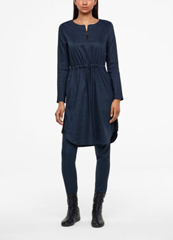 Sarah Pacini ROBE - LIN STRETCH De face