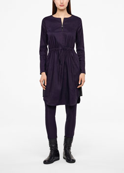 Sarah Pacini STRETCH LINEN DRESS Front