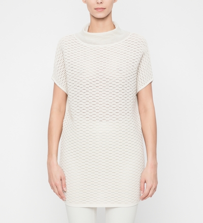 Sarah Pacini SWEATER - SHORT SLEEVES Front