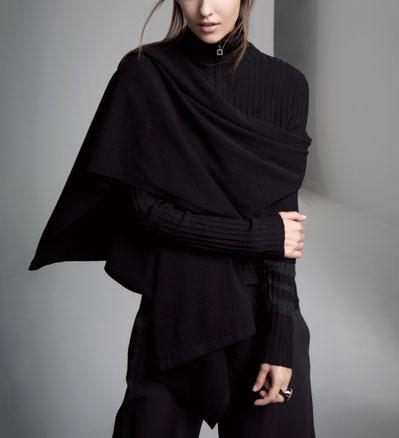 Sarah Pacini Essential sjaal Voorzijde