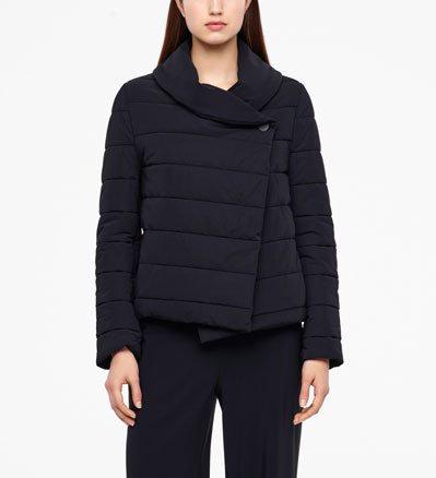 Sarah Pacini COAT - FULL SLEEVES Front