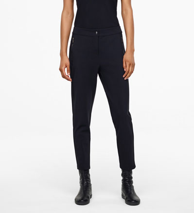 Sarah Pacini PANTS - ZIPPED POCKETS Front