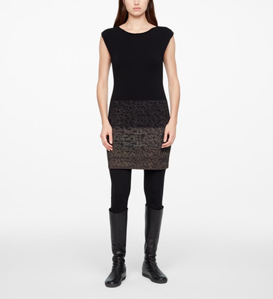 Sarah Pacini DRESS - STARRY NIGHT Front
